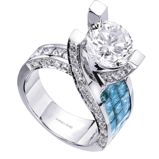 Sophia Fiori Blue Diamond 56