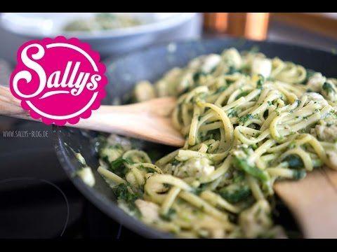 Hähnchenrahm mit Linguine / One Pot Rezept / 15 Minuten Hauptgericht - YouTube