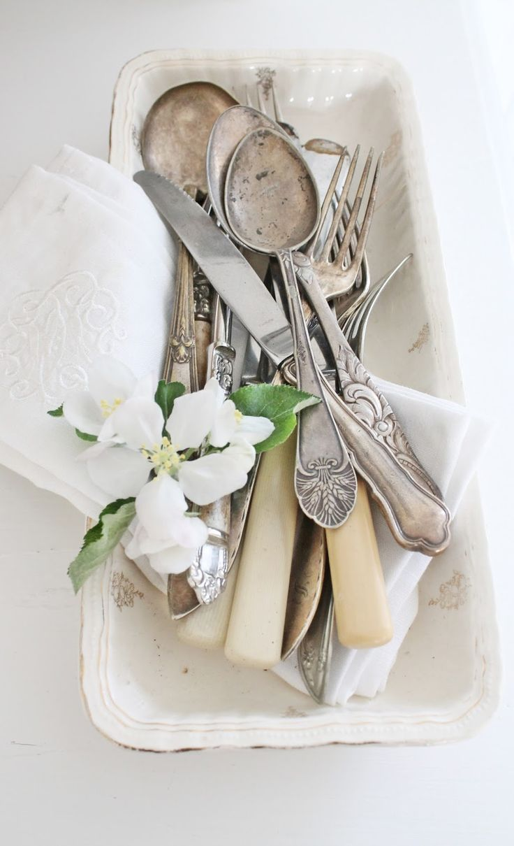 Like opening your grandmother's cutlery drawer.