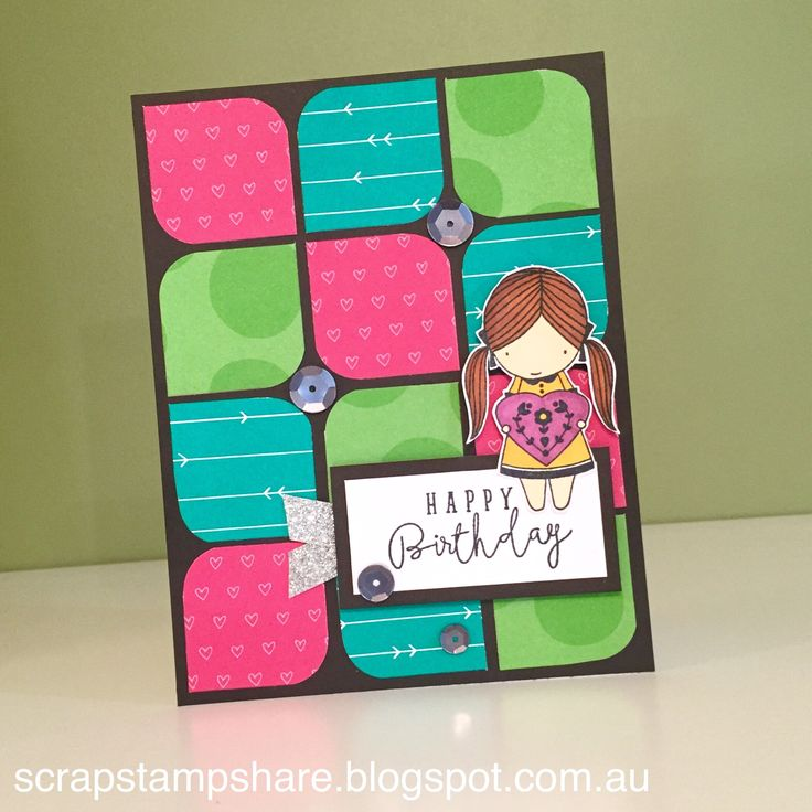 This card was created by Denise Tarlinton, CTMH Manager and is based on a card design by Rebecca Lehman in the Adventure Fundamentals Card Workshop. It features Adventure Fundamentals and the Operation Smile stamp set, True Love. For more ideas featuring Adventure Fundamentals and True Love visit http://scrapstampshare.blogspot.com.au