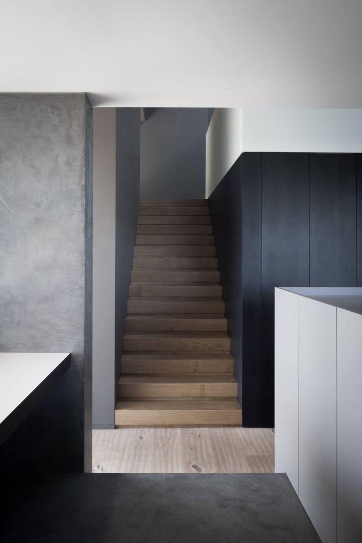 Interior by Reid|Senepart architecten. Photo by Cafeïne|Thomas DeBruyne.