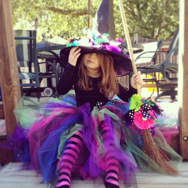 My babies witch costume for Halloween :)