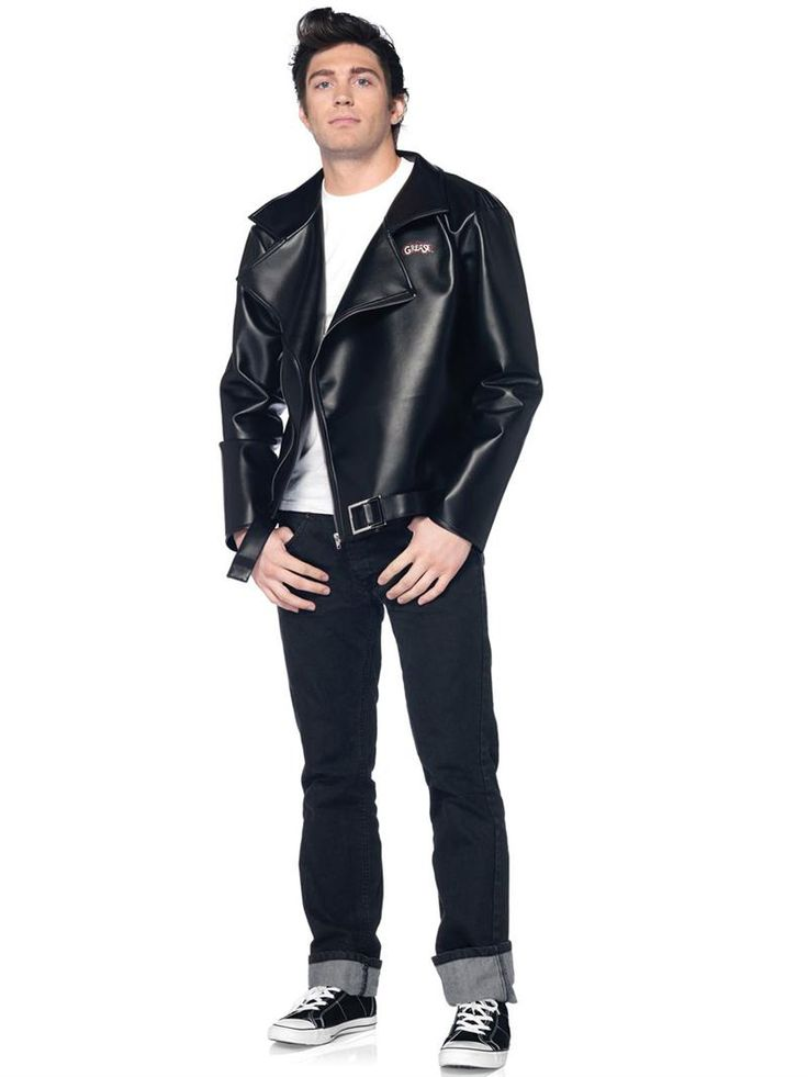 Danny Zuko Jacket. Grease Adult Men's Halloween Costume ...