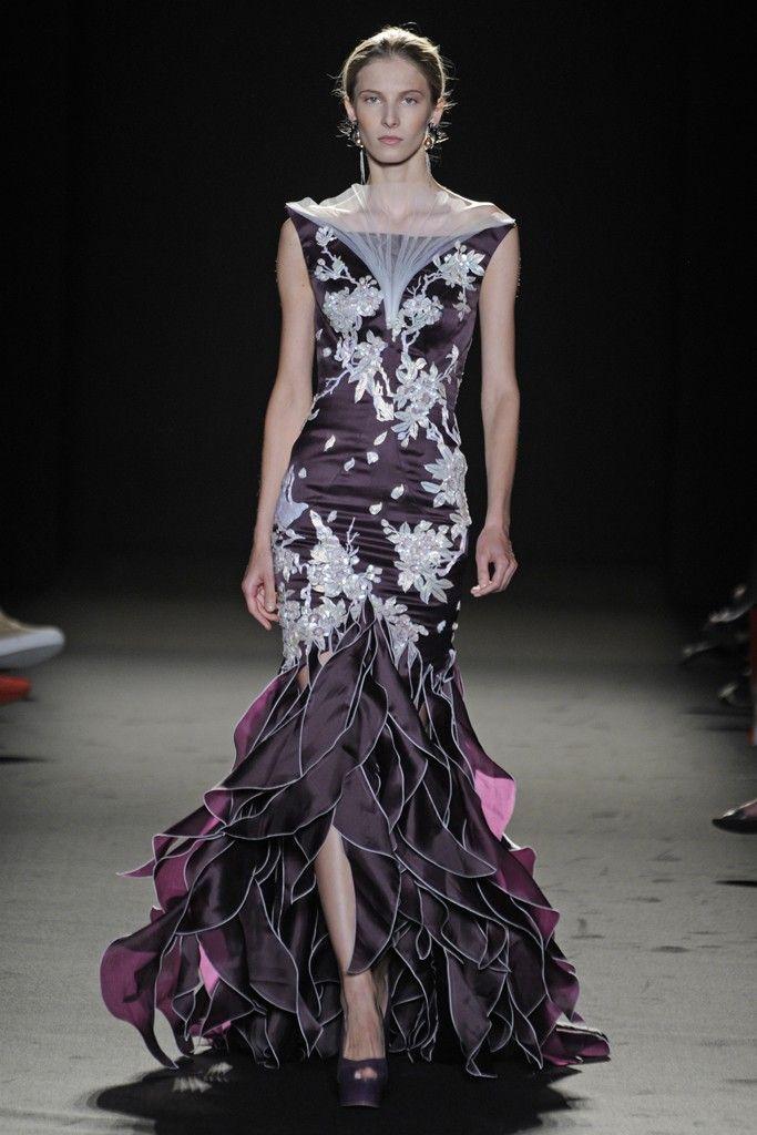 Laurence Xu Fall Couture 2013 - Slideshow - Runway, Fashion Week, Reviews and Slideshows - WWD.com