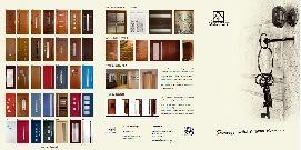 Folder - wzory drzwi drewnianych wewnętrznych, zewnętrznych oraz szklanych - Stolmat Tarnów, Kraków