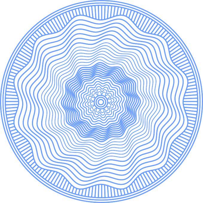 #cocoscollections Rosette Patterns (aka guilloche) - CorelDRAW.com