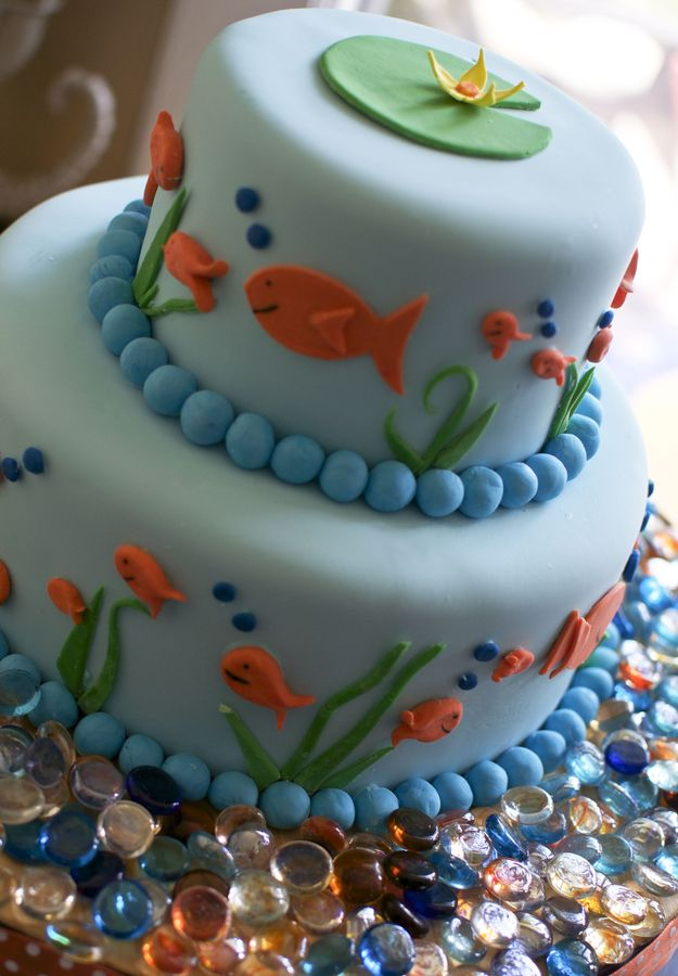 Goldfish cake by Lindsay Getz, via 500px