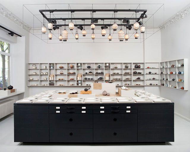 Paper & Tea Concept Store by Fabian von Ferrari // Berlin.