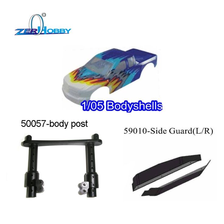 109.00$  Watch now - http://aligh9.worldwells.pw/go.php?t=32699119195 - RC CAR SPARE PARTS ACCESSORIES BODY SHELL FOR HSP SKELETON 1/5 GAS MONSTER TRUCK MODEL 94050 109.00$