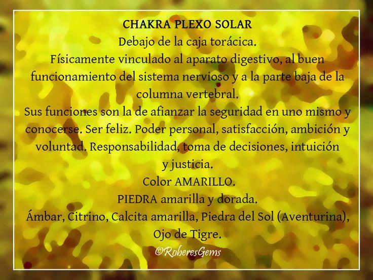 Chakra Plexo Solar. Color Amarillo.
