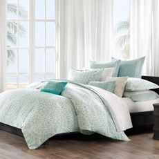 Echo Bedding Mykonos Duvet Cover, 100% Cotton - Bed Bath & Beyond