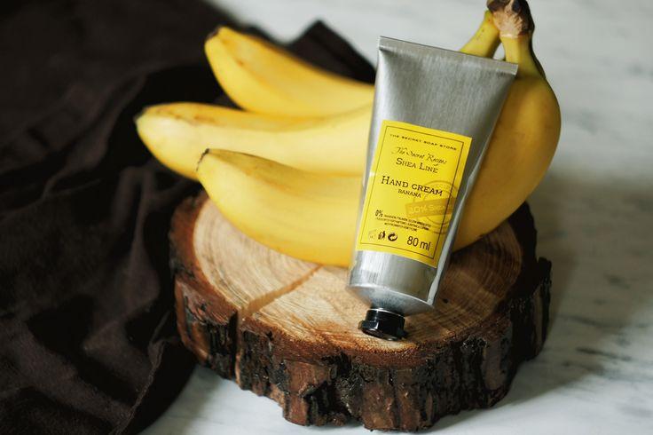 Poznaj naszą nowość wśród kremów do rąk z masłem Shea - banan! <3 Dostępny tutaj: https://secret-soap.com/krem-do-rak-banan-80-ml-616.html #bananahandcream #thesecretsoapstore #sheabutter #kremdorak #bananowykremdorak #polishbrand #naturalcosmetics #bananacosmetics