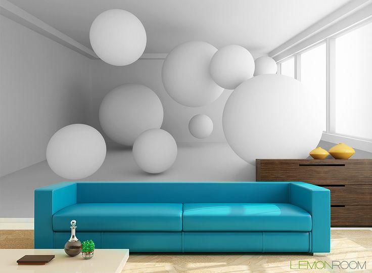 Fototapeta 3D Kule  >> http://lemonroom.pl/fototapeta-0-wyniki-wyszukiwania-117859321-Empty-White-Room-With-Many-Spheres.html  #fototapety #fototapeta #fototapety3D #Design #WystrójWnętrz #inspiracje #Dekoracje #Wnętrza #Aranżacje #Wnetrza #wystrojwnetrz #InteriorDesign #HomeDecor #Decorating #WallDecor #WallArt #Wallmurals #murals