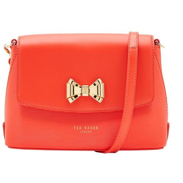bow bag - House of Fraser ❤ liked on Polyvore featuring bags, handbags, red bow purse, red handbags, bow purse, bow handbag and red bags