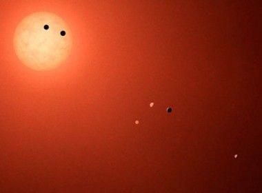 Estudo aponta que planetas do sistema Trappist-1 podem ter retido grande quantidade de água  Observações feitas com o telescópio espacial Hubble aumentam possibilidade da existência de vida nesses mundos     Leia mais: http://ufo.com.br/noticias/estudo-aponta-que-planetas-do-sistema-trappist-1-podem-ter-retido-grande-quantidade-de-agua    CRÉDITO: NASA    #Trappist-1 #NASA #Hubble  #revistaUFO