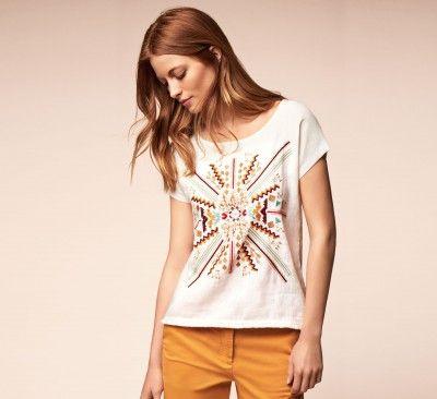 237e8f8a2fb2 T-Shirt Manches Courtes OMACHA Femme - T-Shirts Femme - Caroll