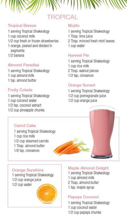 #Tropical #Strawberry #Shakeology #Recipes | For more info, click here: http://hopediana.tumblr.com/post/74834699437/tropical-strawberry-shakeology-recipes-for-more