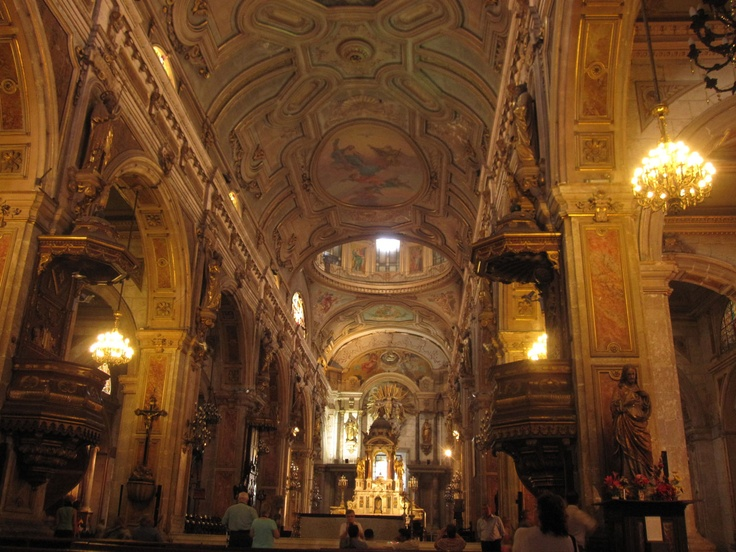 Metropolitan Cathedral in Santiago, Chile