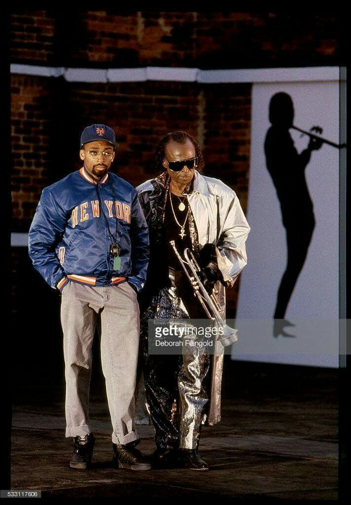 Miles Davis and Spike Lee