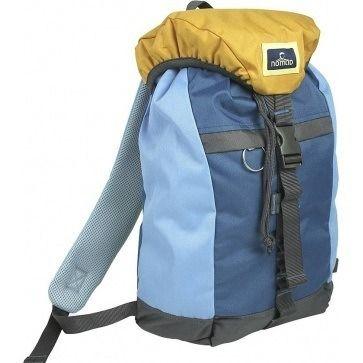 Deze Nomad Polyester Daypack Blauw/Geel/Grijs vind je op www.liefzebraatje.nl