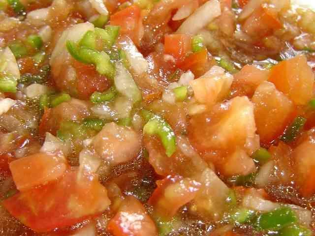 カディスのトマトサラダ♪ピリニャカ!の画像