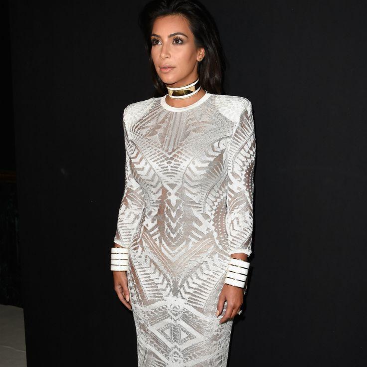 Kim Kardashian: My boobs were too big