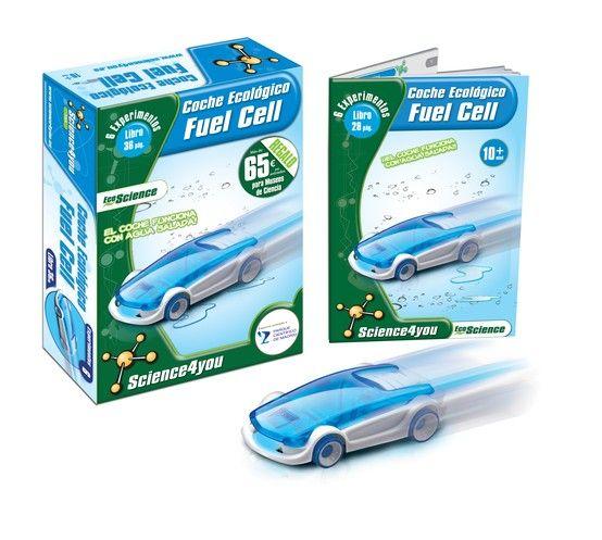 6 AÑOS_COCHE AGUA SALADA ¡Descubre el fascinante mundo de los coches ecológicos a través de la construcción de un coche que se mueve con agua salada y realización de los experimentos que este juego te proporciona!