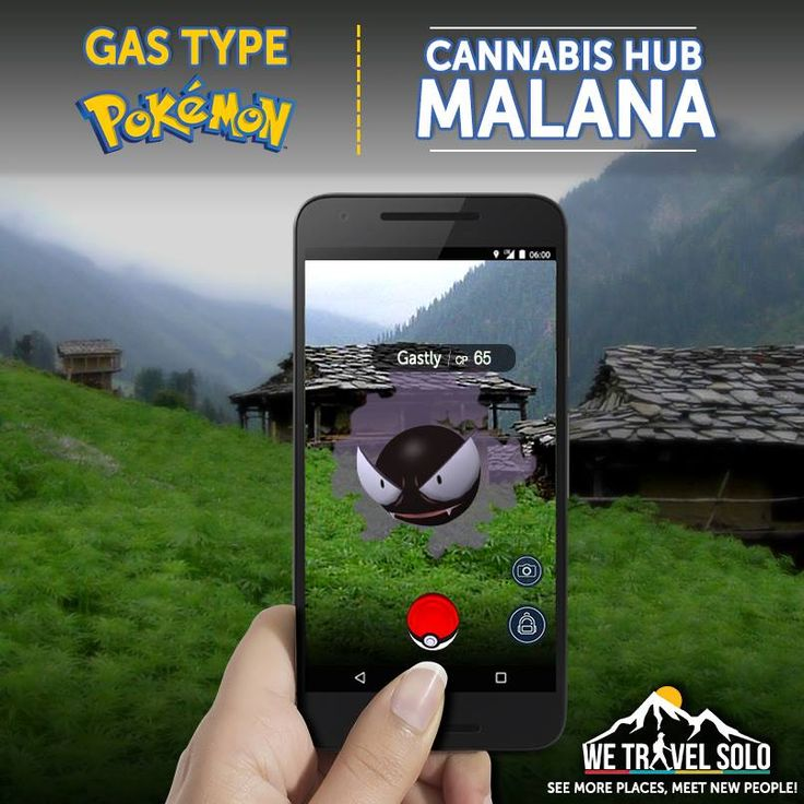 Find gas type pokemons in the cannabis town of Malana. These pokemons are hard to track amidst the pot smoke of Malana Cream. We would go to Kasol & Tosh as well to catch'em all!   Capture Plan: http://wetravelsolo.com/kasol-tosh-malana-village