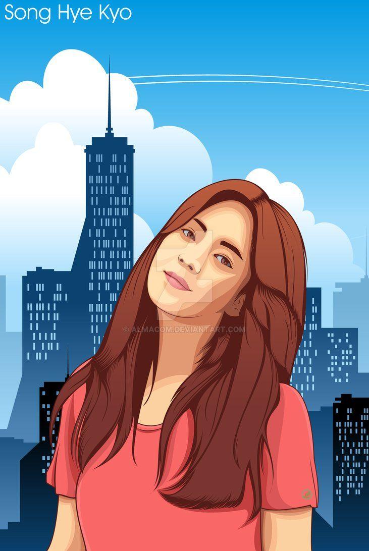 Song Hye Kyo by almacom.deviantart.com on @DeviantArt