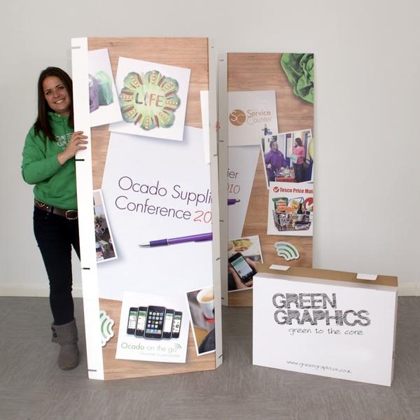 Eco cardboard displays
