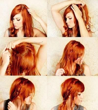 cute hairstyles step by step | 11 Feb Cute Long Hairstyles For LA Girls 2013-3