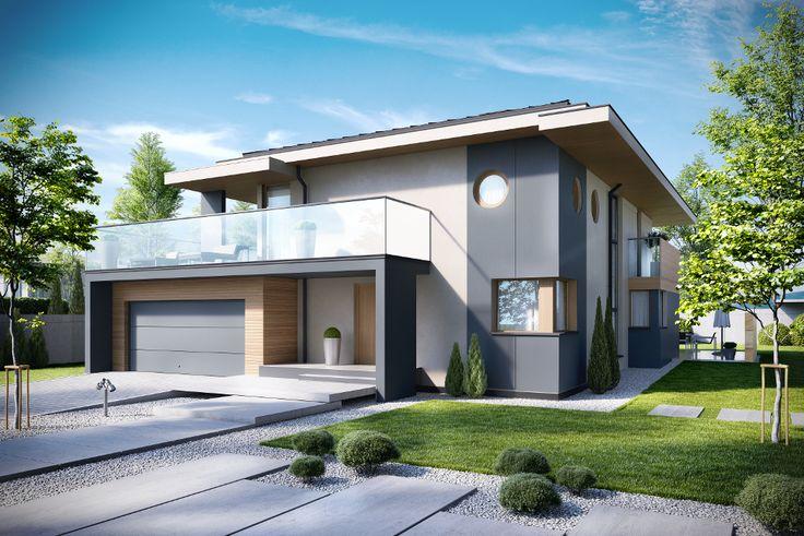 DOM.PL™ - Projekt domu KBP BŁAWATKÓW CE - DOM BT6-98 - gotowy projekt domu