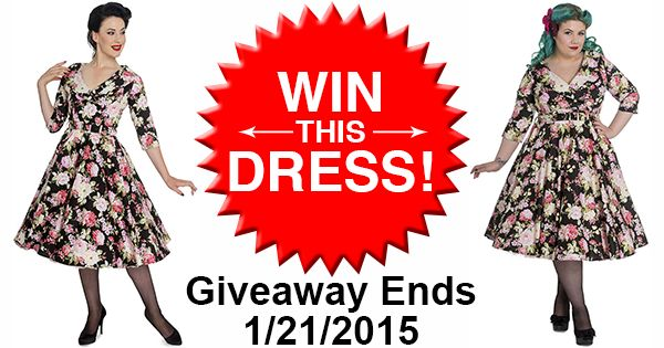 Win This Gorgeous Black Dahlia Dress!