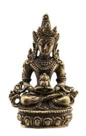 Bouddha Amitayus-Amulette tibetaine statuette-Boddhisattva-45mm