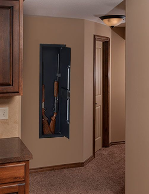 stackon long gun wall safe with electronic lock pws1555