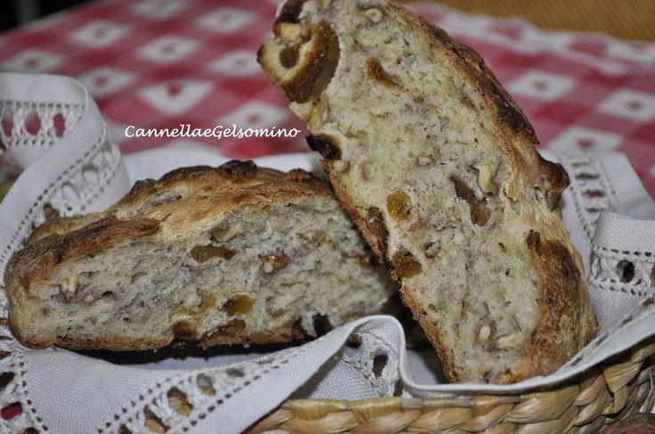 Pane ai fichi e noci con lievito naturale | Colori, Profumi e Sapori della mia Terra