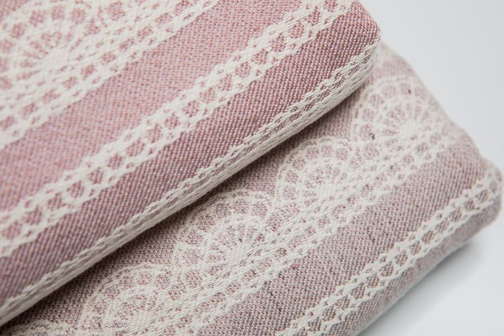Powder Pink Lace(top) vs Smoky Pink Lace