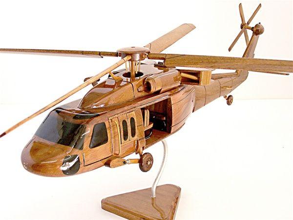 wooden uh 60 blackhawk 2