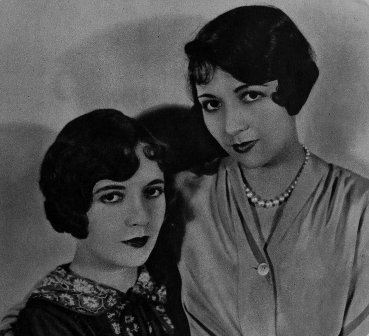 Lois Wilson and her sister Diana Kane (1926)
