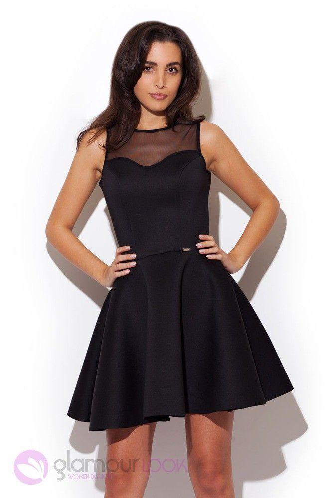http://allegro.pl/sukienka-mini-z-tiulowym-dekoltem-czarna-l-40-i5224422547.html