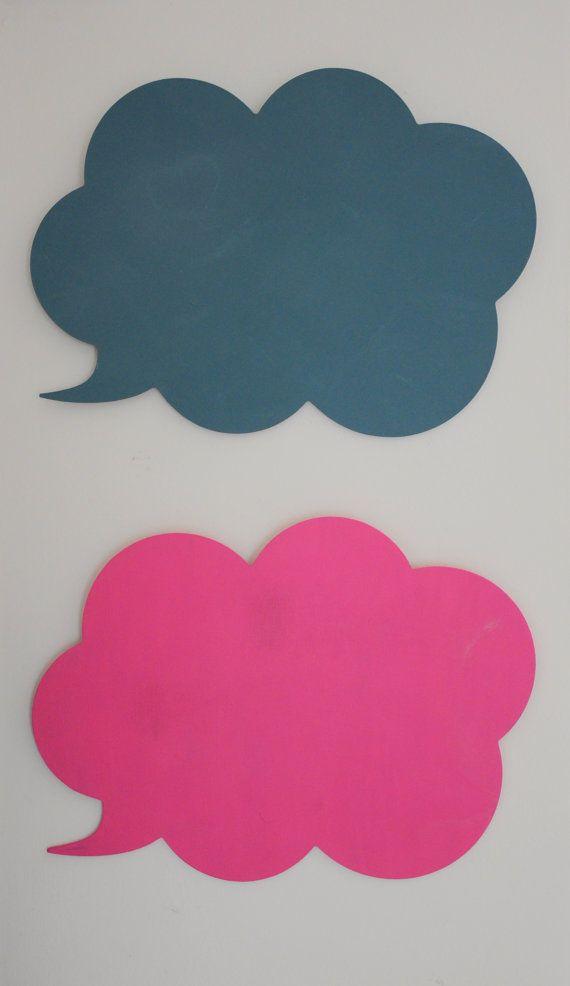 Speech Bubble Chalkboard Cloud