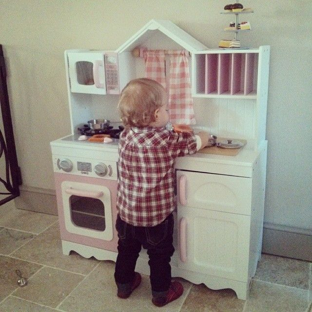 Modern Country Kitchen Kidkraft Playkitchens Toys