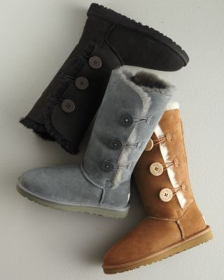 more snow tomorrow . . . get your boots out! UGG® Bailey Button Tall Boots
