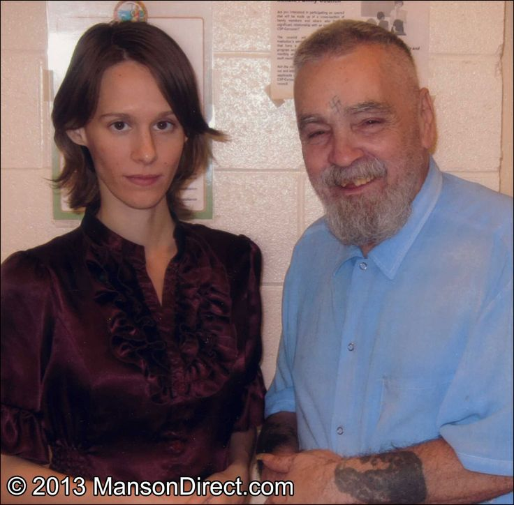 Charles Manson and Star getting married! What gives him the right to even have that smile across his ugly ass face? The California prison system fudged on this one.