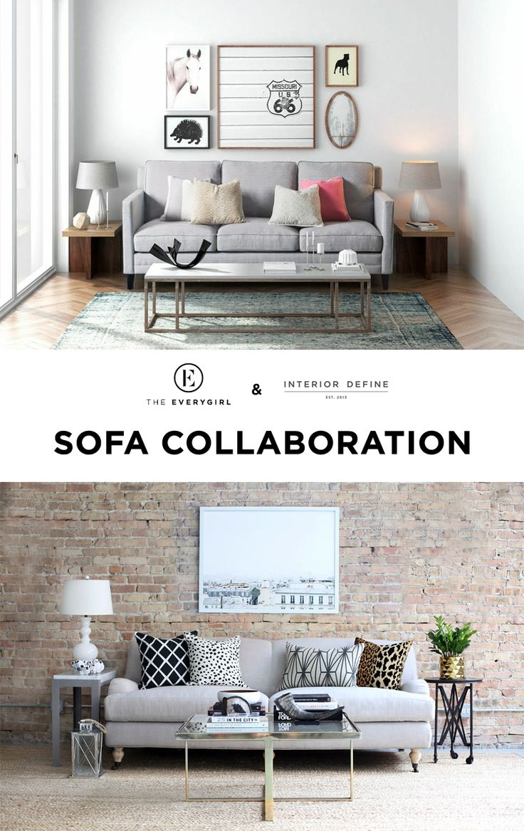 BIG ANNOUNCEMENT: Our Sofa Collaboration with Interior Define Now Available!