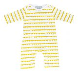 White & Sunshine Yellow Bunting Print All-in-One