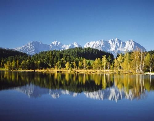 Kaisergebirge - Kitzbühel - Schwarzsee - Wilder Kaiser - Ausztria Austria