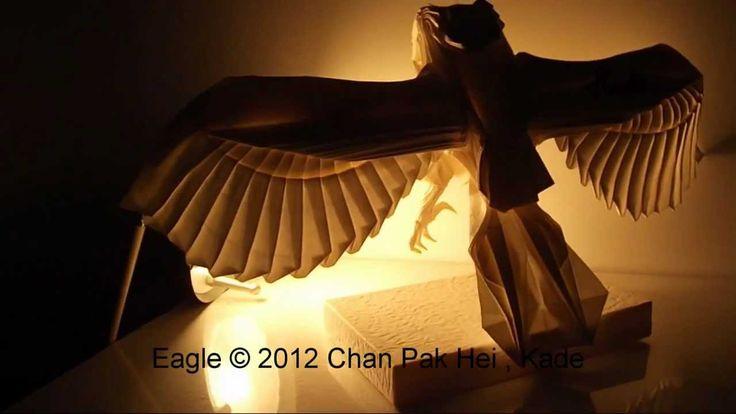 Origami Eagle 摺紙老鷹 ( Kade Chan )