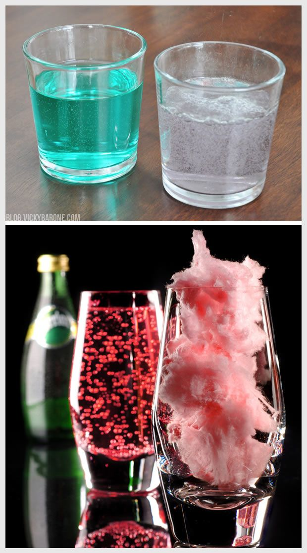 Cotton Candy Sparkling Drink