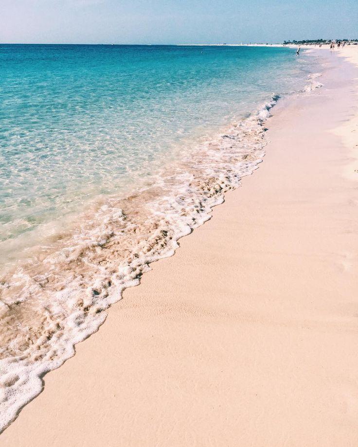 Beach on the island Sal, Cape Verde #Kaapverdie
